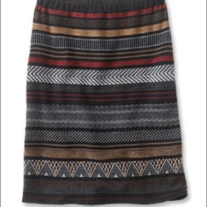 Orvis Wool Elastic Waist Skirt worn twice